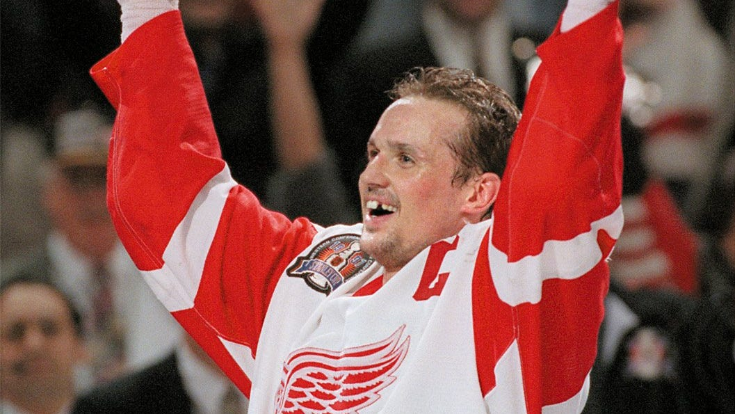 Book excerpt: When Wings made Steve Yzerman cry