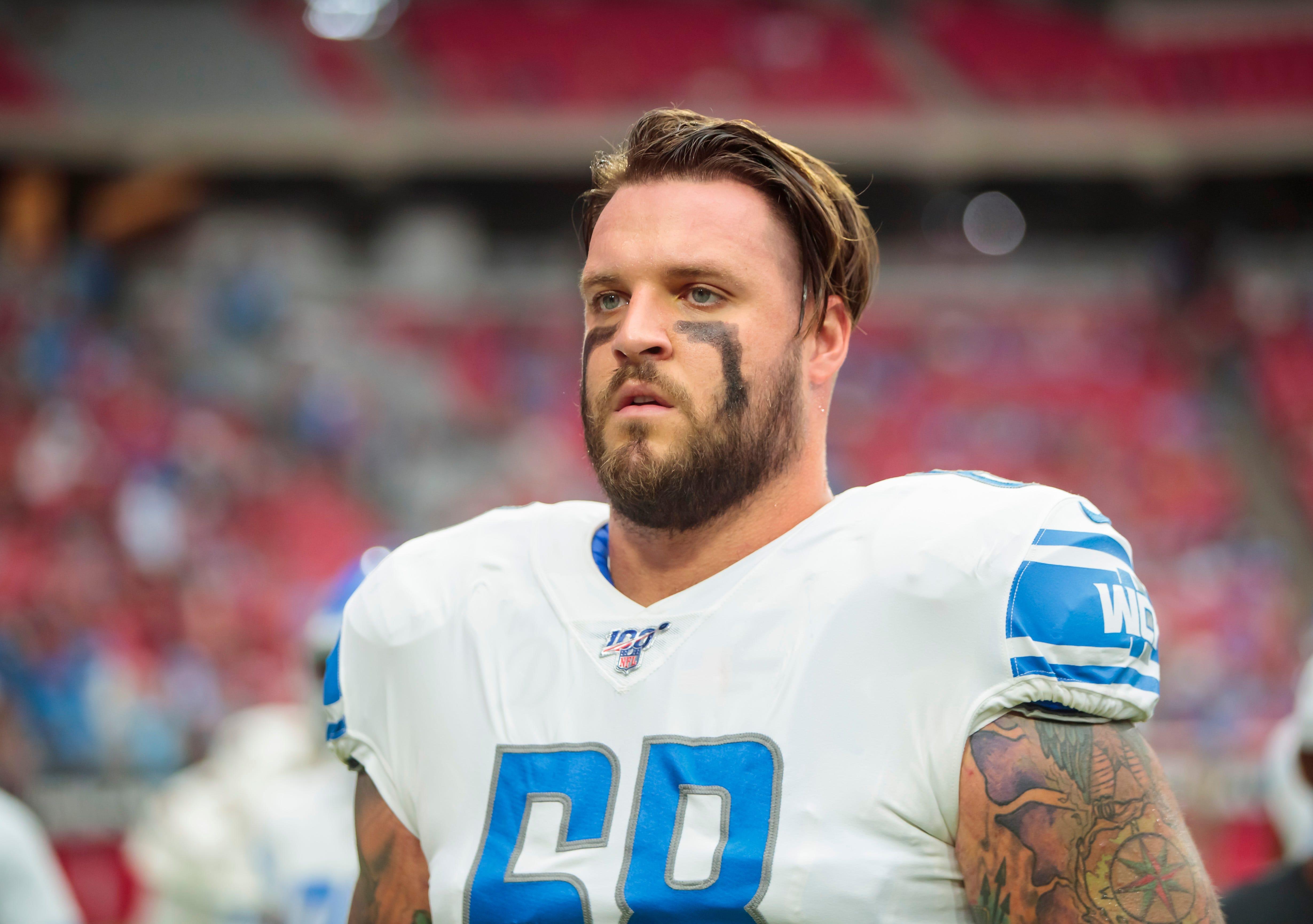 Detroit Lions' Taylor Decker: I'll lobby to keep Matthew Stafford
