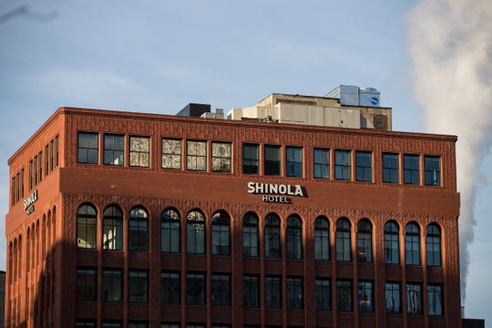 The new Shinola Hotel in downtown Detroit is among the hotels that have closed.