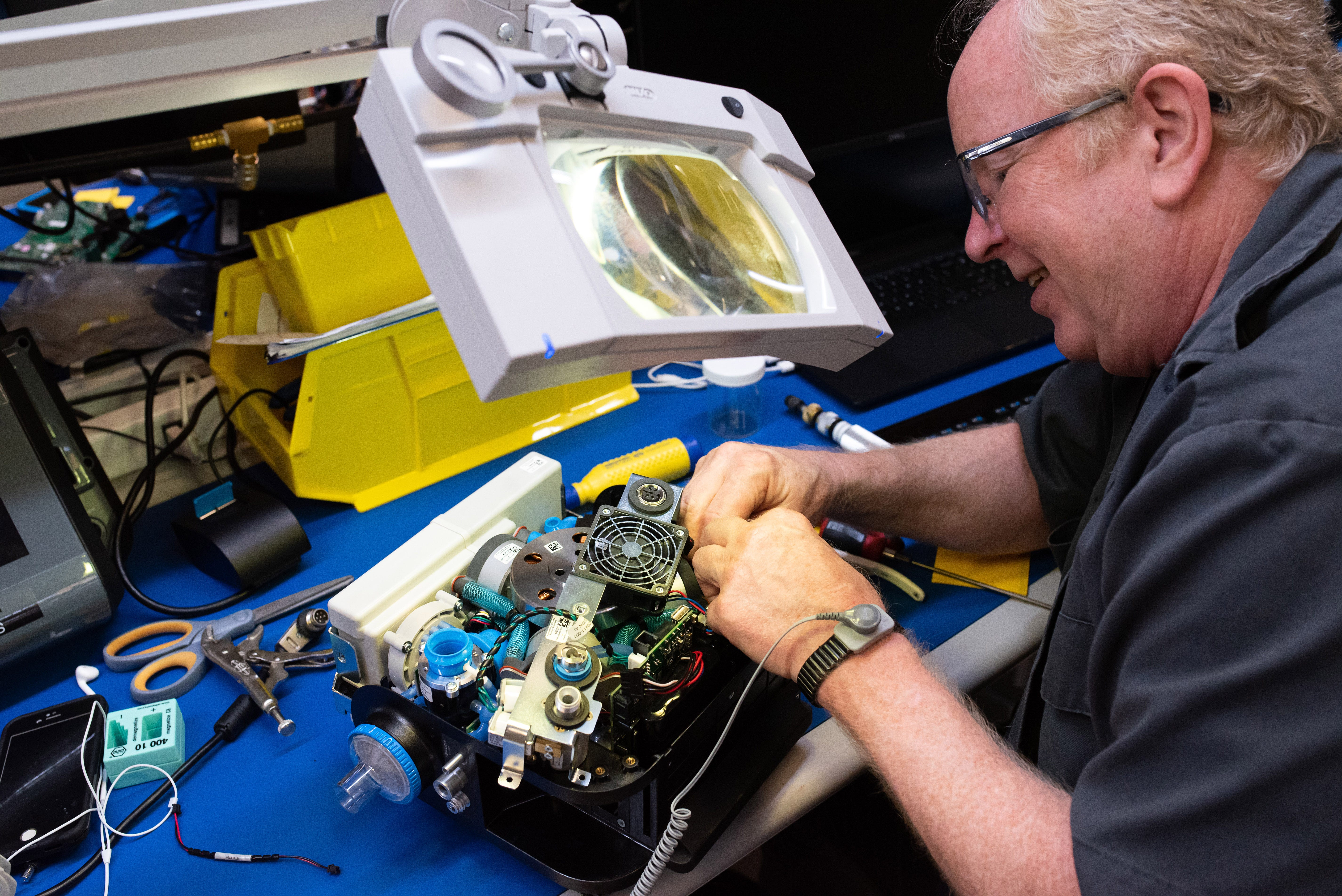 GM to hand off ventilator production to Ventec