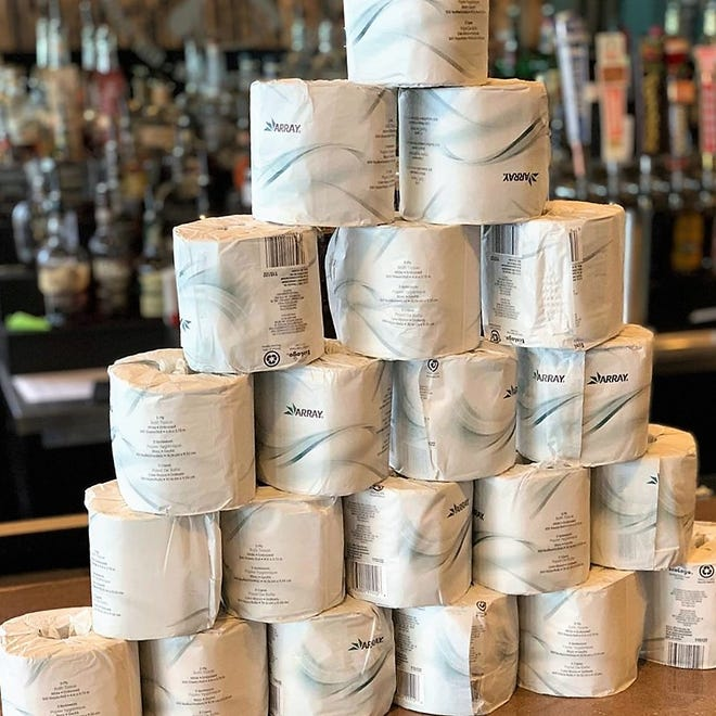 Prime Time Pub & Grill is offering a free roll of toilet paper with every carry-out order over $25 while supplies last. #wipeawayhunger