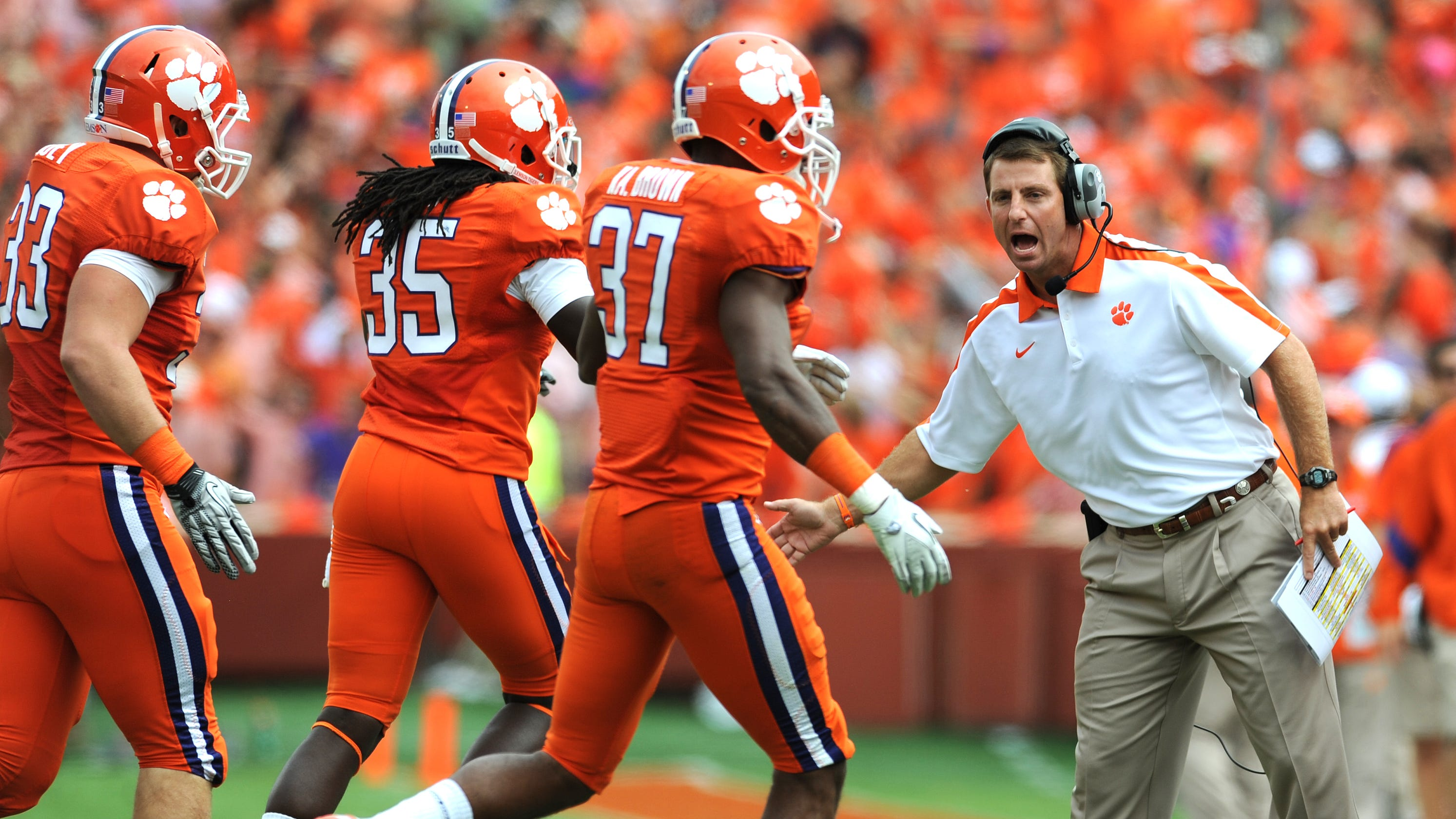 Stuck inside? Here are the Top 10 games of the Dabo Swinney era to enjoy all over again