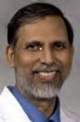 Srinivasan Vijayakumar, MD, MPH, is a professor and chair with the Department of Radiation Oncology at the University of Mississippi Medical Center