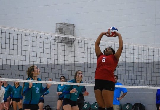 Westminster volleyball player Stacia Newton was born with an impaired immune system.