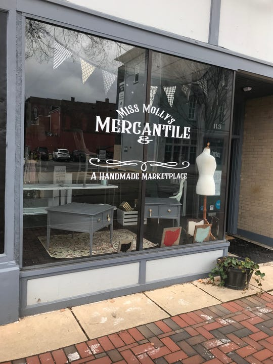 Miss Molly's Mercantile owner Betsy Semmens said COVID-19 and the state-ordered gathering limits it caused forced her to permanently close her business at 117 S. Columbus St.