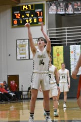 Howell's Bobby Samples shoots a free throw in the third overtime of a 75-71 victory over Canton on Tuesday, Feb. 18, 2020.