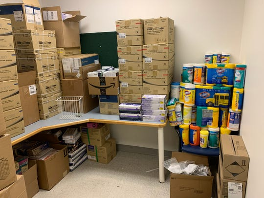 Donations of medical supplies are being collected by St. Joseph Mercy Livingston Hospital and other hospitals as coronavirus cases rise and put a strain on the medical equipment supply chain.