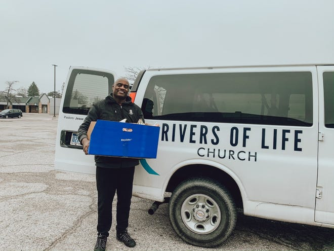 An emergency childcare center opened this month at Rivers of Life Church to serve essential workers during the coronavirus pandemic.