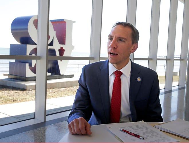 State Sen. Chris Larson of Milwaukee has entered the 2022 Democratic race for U.S. Senate.