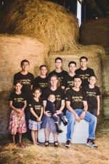 Kathy and Robin Roxas run Morning Star Family Farm in Hartford with their nine children.