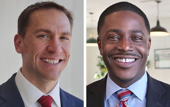 State Sen. Chris Larson, left, and state Rep. David Crowley are running for Milwaukee County executive.
