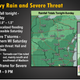Heavy rain is possible across southern and central Wisconsin beginning Friday night and continuing into Saturday. Some of the storms on Saturday could become severe.