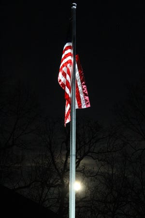 Gov. Gretchen Whitmer has ordered U.S. and Michigan flags lowered to half-staff throughout the state of Michigan on Friday to honor the service of Michigan Air National Guard Technical Sgt. Nathan WilliamDenryterwho died from cancer.