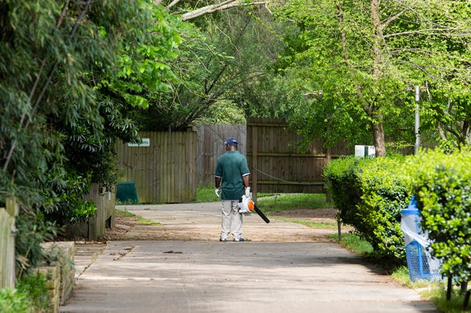 """""""Zoos are meant to have people in them,"""" zoo director Joe Clawson said about the eerie calm of the empty Louisiana Purchase Gardens & Zoo in Monroe, La. while the zoo is closed to visitors during the coronavirus outbreak in Louisiana. Staff still care for the grounds & animals."""