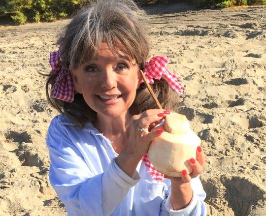 "Dawn Wells starred as Mary Ann on classic TV show ""Gilligan's Island."""
