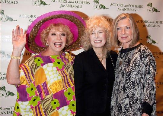 From left, Ruta Lee, Loretta Swit and Susan Sullivan.