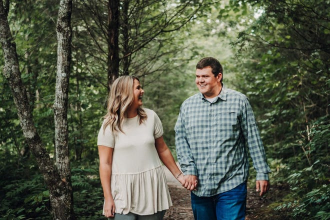Muncie couple Sarah Collins and Tayler Cooper had to postpone their April wedding in Panama City Beach due to COVID-19.