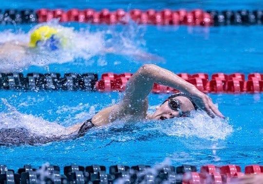 Yorktown junior swimmer Ellie Alexander.