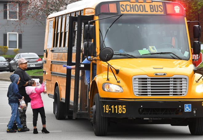 Metro Nashville Public Schools will be delivering  meals to students at school campuses and bus stops as the district resumes classes virtually in August.