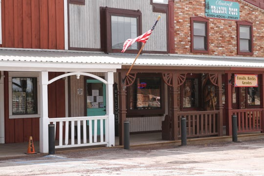 Meat on the Mountain opened for business selling quality meat products at the Burro Exchange in the Village of Cloudcroft on Thursday.