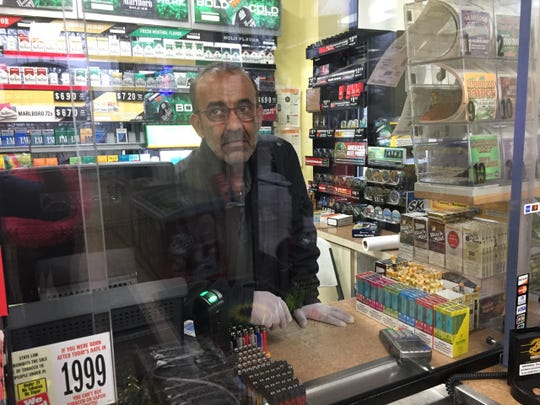 Billy, the attendant at the BP gas station at the corner of Ford and Sheldon roads said business has been significantly down since the governor's order for residents to stay home.