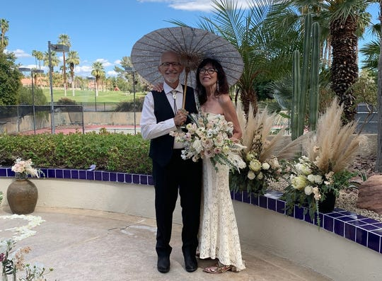 Stephen Schullo and Georgiana Lotfy had the perfect wedding that they didn't plan.