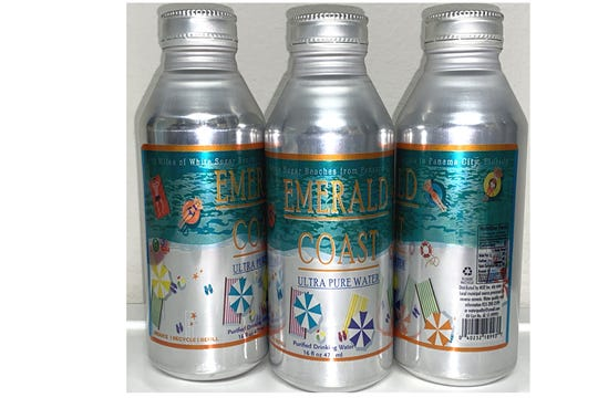 MSP Inc., the distributor of Pensacola-based Emerald Coast Ultra Pure Water, recently rolled out a bottle that's 100% reusable and recyclable.