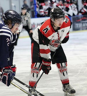 Pensacola's Hayden Watzka, pictured here with the Louisiana Drillers, signed with Western Michigan University's ACHA Division 1 team in March 2020.