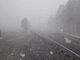 Snowfall was captured by an Arizona Department of Transportation camera along southbound State Route 89A at Oak Creek on Friday, March 27, 2020.