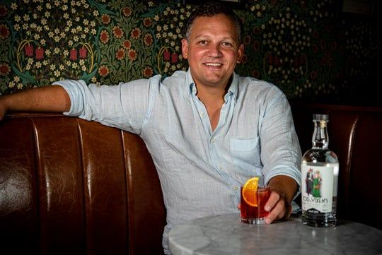 Eral Gokgol-Kline, founder of The Vale Fox Distillery in LaGrange.