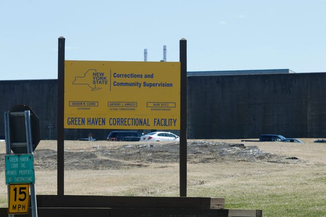 Green Haven Correctional Facility on March 27, 2020.