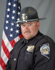A photo of Sgt. Ben Jenkins, of the Nevada Highway Patrol. Jenkins was shot and killed on Friday, March 27, 2020, while assisting a motorist along U.S. 93 near Ely.