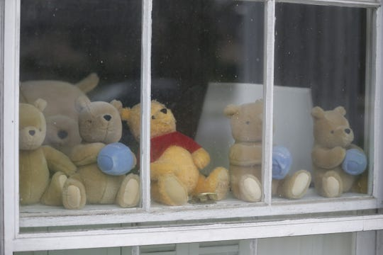 This 20th Street house is one of many Reeveston neighborhood homes to display stuffed animals and create a scavenger hunt-like activity for kids stuck at home.