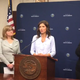 Gov. Kristi Noem held her daily update news coronavirus news conference on March 27.