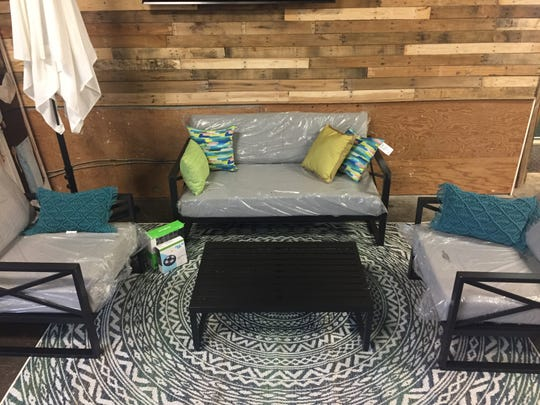 This patio furniture and rug are among the prizes in the Backyard Bundle giveaway. Visit Habitat for Humanity's Facebook page at 9 p.m. tonight to learn more about Habitat for Humanity and view live drawing.As of Friday morning, there were still about 350 tickets left.Tickets and a listing of the full rules are available online at habitatspringfieldmo.org/backyardbundle.