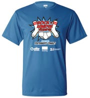 These are the T-shirts for the third annual Sock & Undie Rundie on April 4. Due to the COVID-19 pandemic, the races will be held virtually.