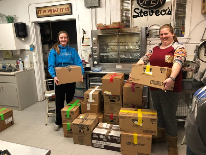 Rural grocery stores are using the 14-day meal kits to help create social distancing in the town and also sustain their economics during the COVID-19 outbreak.