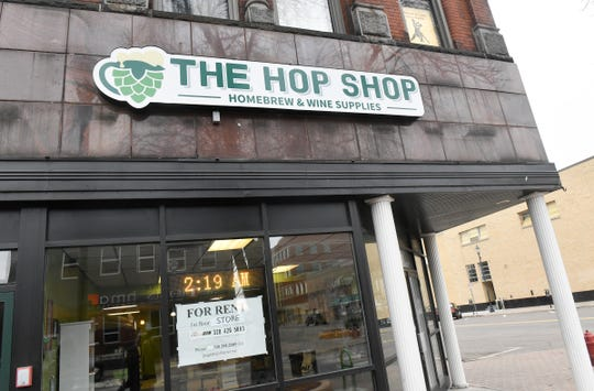 The Hop Shop owner Desi Hall has announced that the business will close. The shop is pictured Friday, March 27, 2020, in St. Cloud.