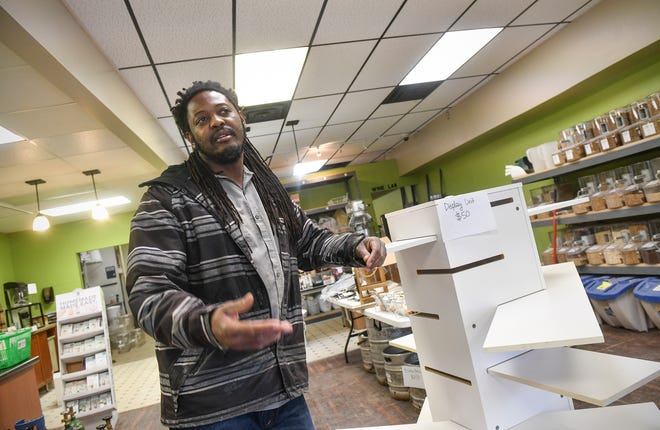 The Hop Shop owner Desi Hall talks about his plans for the future Friday, March 27, 2020, in St. Cloud.