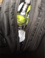 Authorities found two partially empty vodka bottles in a duffel bag in Chief Martin Skibba's car on Feb. 26, according to an investigative report released Friday.