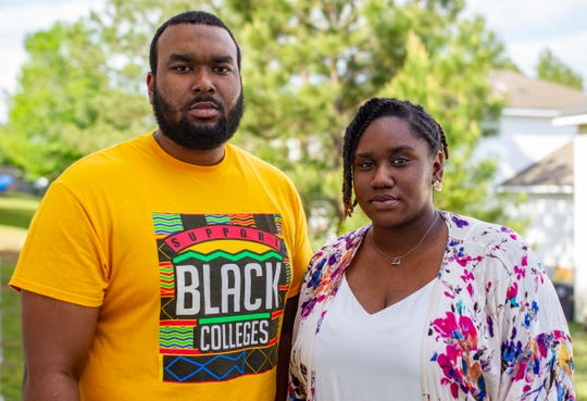 Donald McCloud Jr., a paraprofessional teacher at Griffin Middle School, and Jocilen Smith, a 6th and 8th grade social studies teacher at Nims Middle School, are among the thousands of teachers reinventing education during the coronavirus.