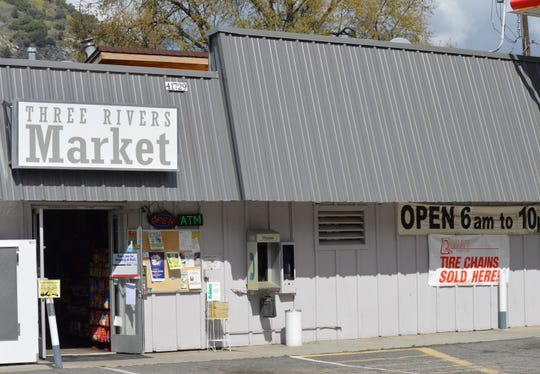 Three Rivers Market is one of the few businesses in town still opened during the COVID-19 pandemic.