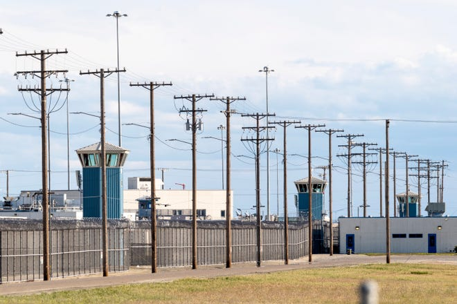 California State Prison, Corcoran on Thursday, March 26, 2020.