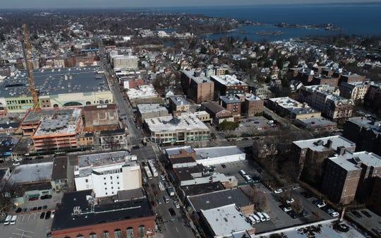 Main Street, New Rochelle March 26, 2020.