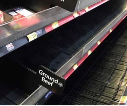 Meat cases and store shelves all across America have been picked clean by shoppers during the ongoing COVID-19 outbreak. Hoarding supplies in times of stress is a basic response seen throughout the animal kingdom.