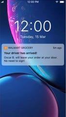 Walmart won't require signature for delivery amid coronavirus pandemic