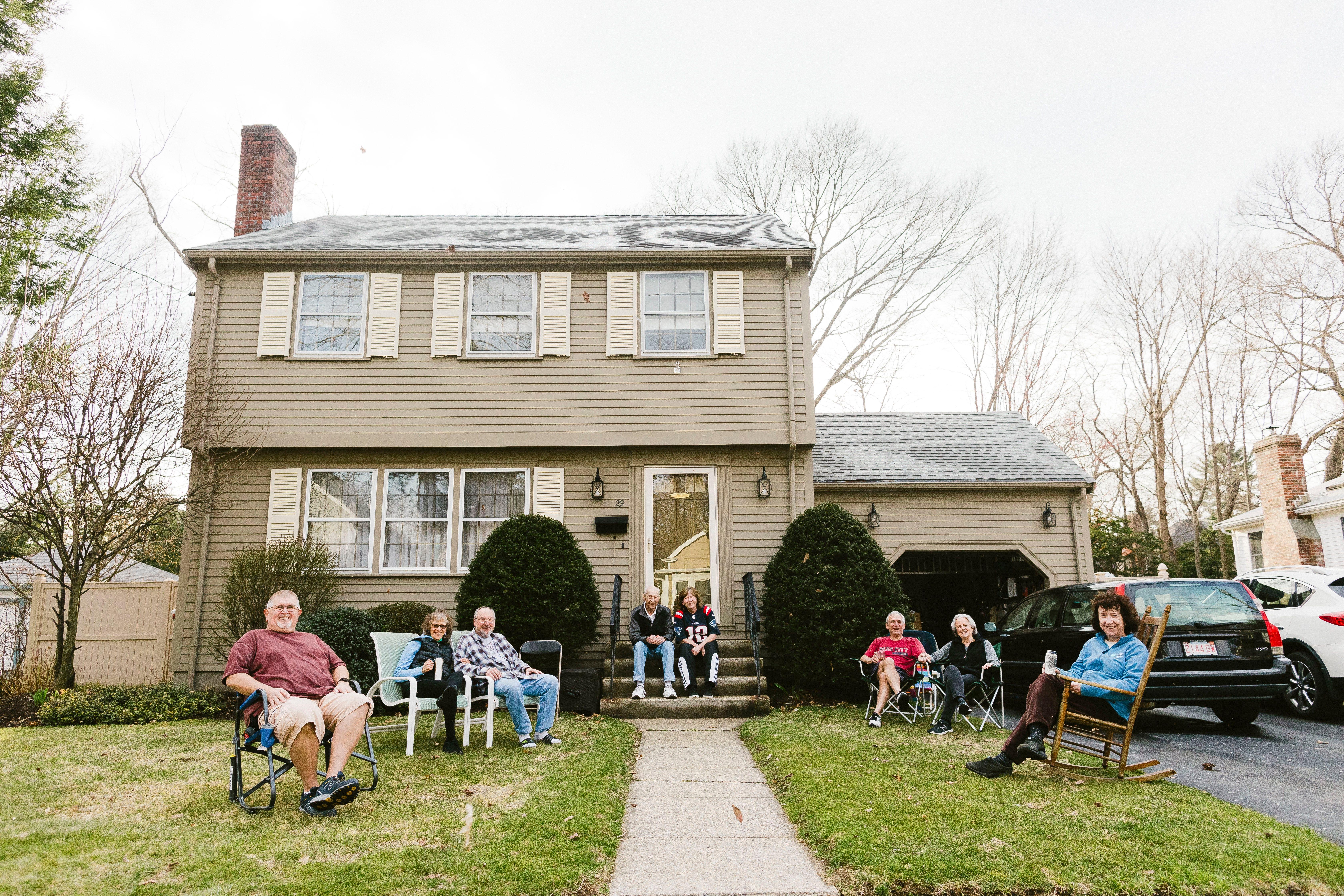 Residents of Greenwood Avenue, Needham, Mass.