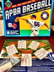 The APBA Baseball board game.