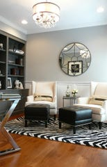A home office space designed by Linda Tann of Ethan Allen in Whippany.