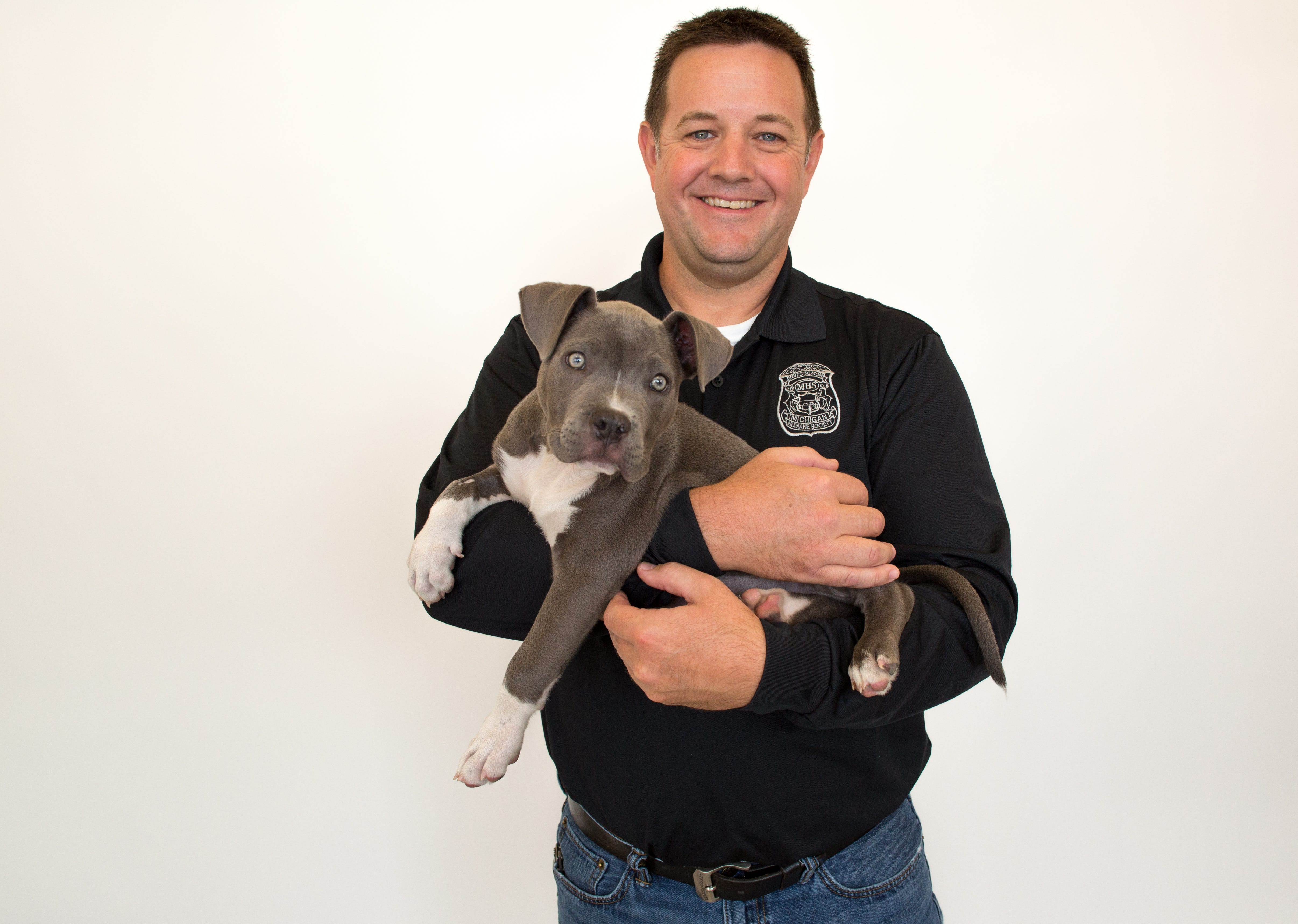 Andy Seltz, vice president of field services for the Michigan Humane Society.